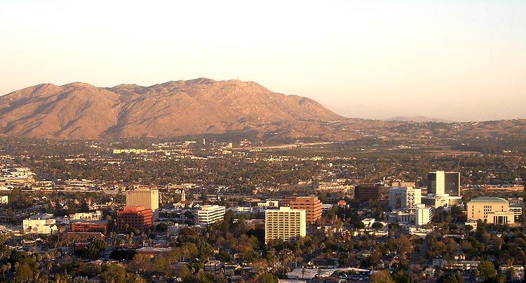 Riverside skyline