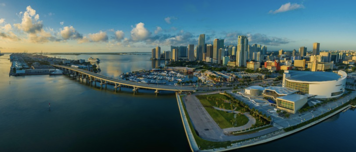 Miami, FL skyline